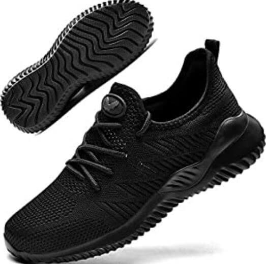 3) Autper Women's Slip On Tennis Walking Shoes