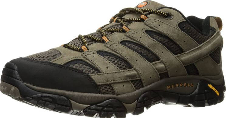 3) Merrell Men's Moab 2 Vent Hiking Shoe