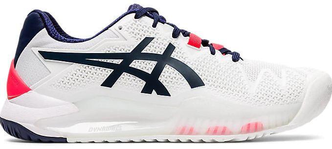 5) ASICS Women's Gel-Resolution 8 Tennis Shoes