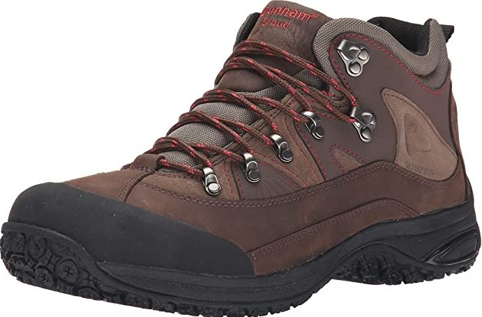 8) Dunham Men's Cloud Mid-Cut Waterproof Boot