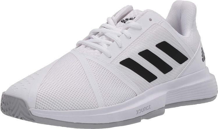 9) Adidas Men's Courtjam Bounce Tennis Shoes