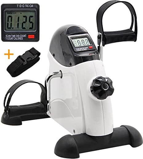 9) Hausse Portable Exercise Pedal Bike