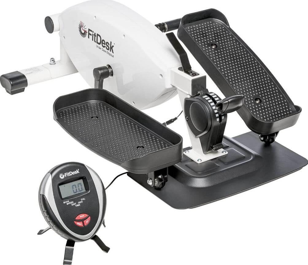 8) Under Desk Elliptical Bike Pedal