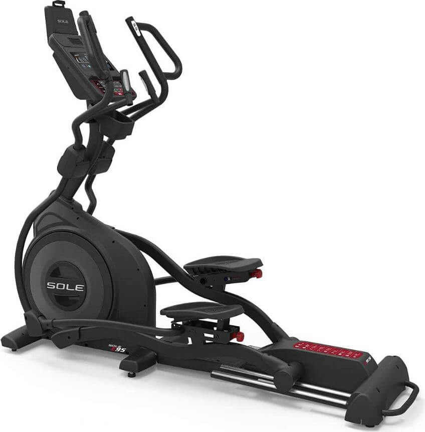 9) Sole E95 Elliptical With Built Speakers