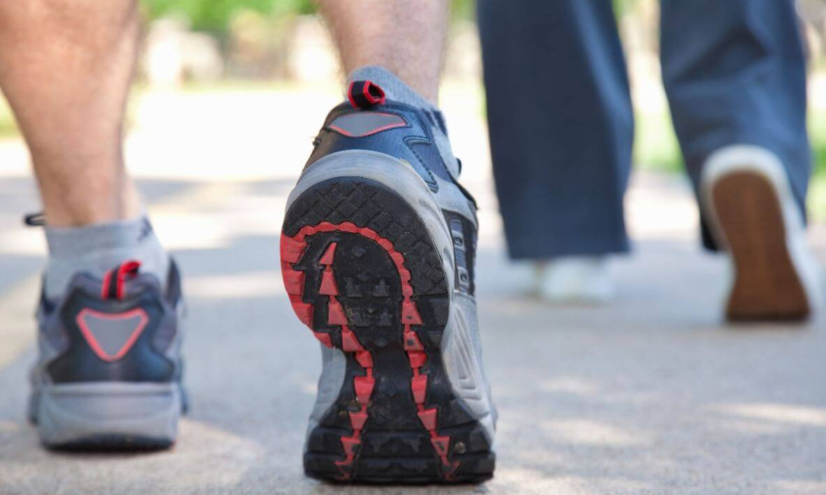 walking shoes for overweight walkers