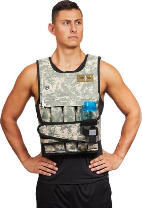 1) CROSS101 Weight Vest For Crossfit