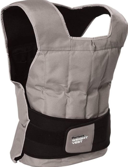 10) Perfect Fitness Weighted Vest