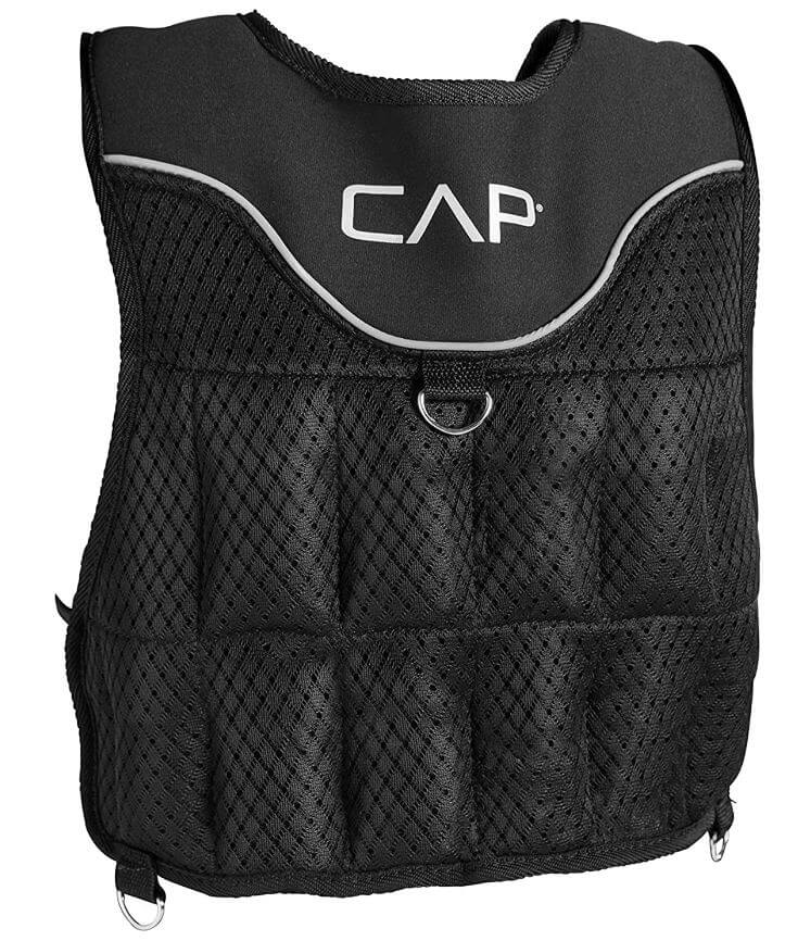 6) CAP Barbell Adjustable Weighted Vest