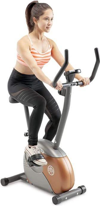 9) Marcy Upright Exercise Bike