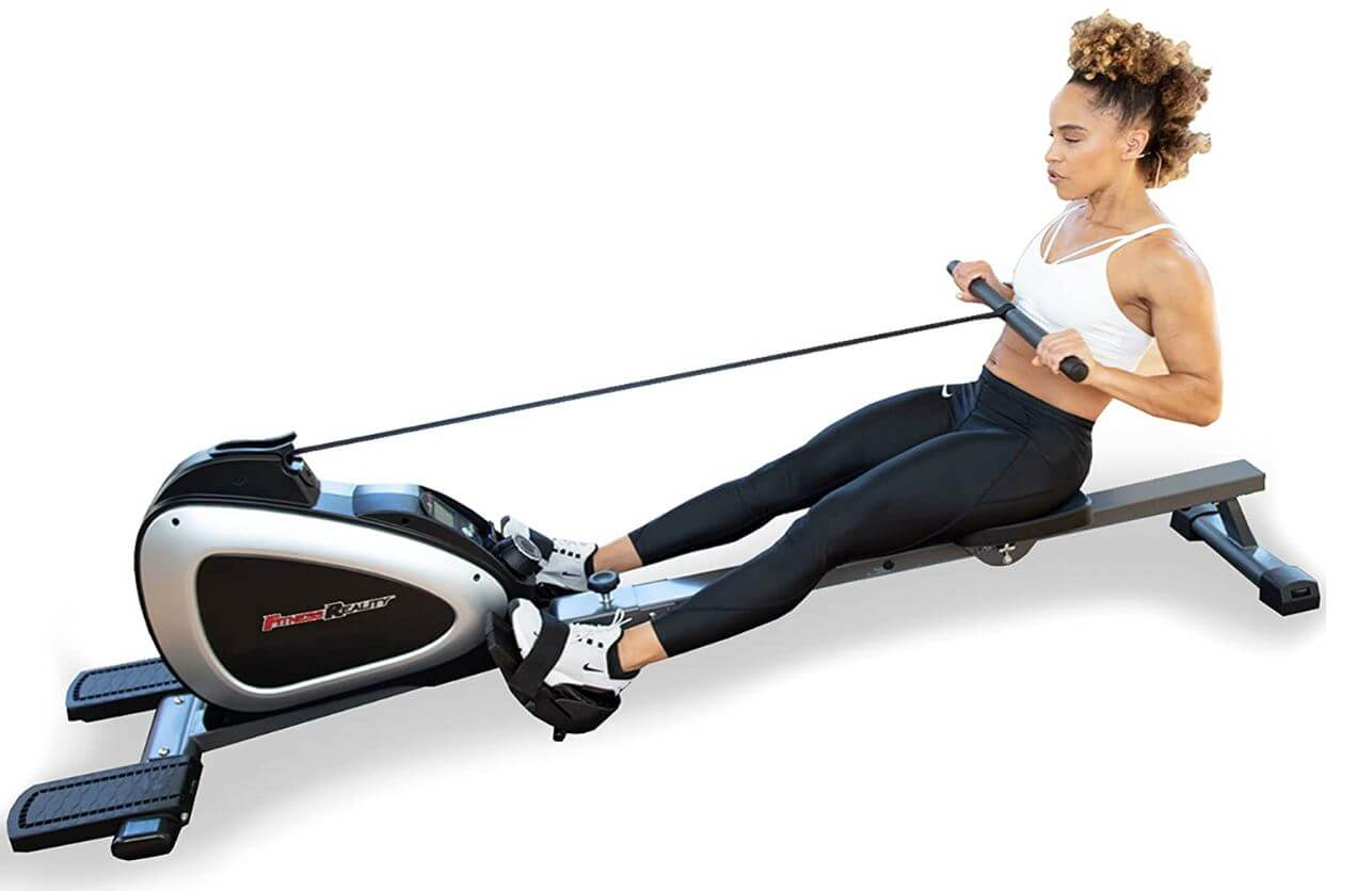 02) Fitness Reality Bluetooth Rower