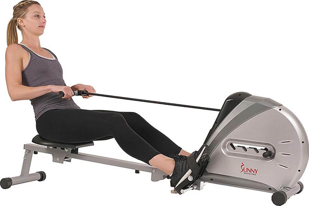 09) Sunny Health & Fitness Rower