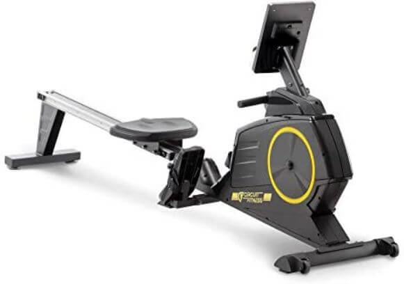 11) Circuit Fitness Foldable Rowing Machine