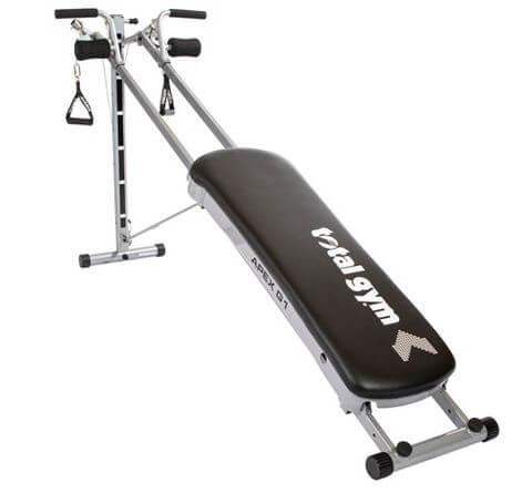 1) Total Gym APEX Equipment