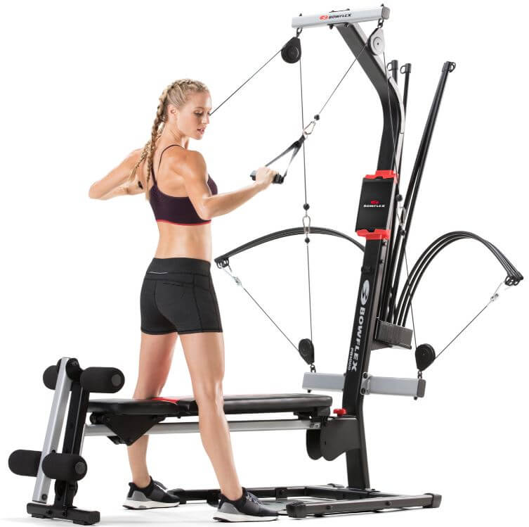 2) Bowflex Home Gym
