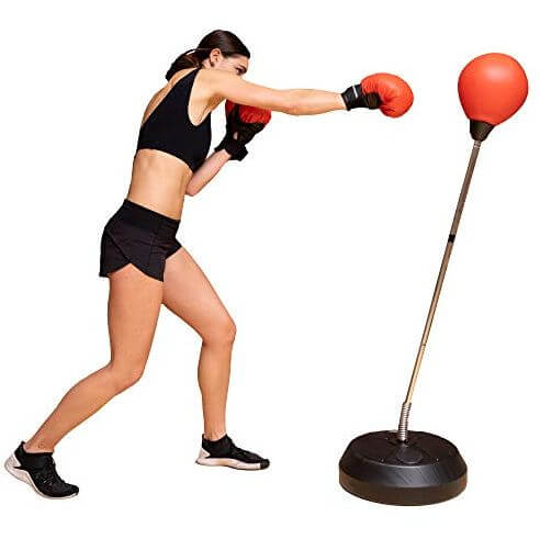4) Protocol Punching Bag with Stand